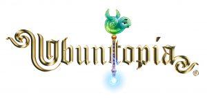 UBUNTOPIA Logo met Talking stick